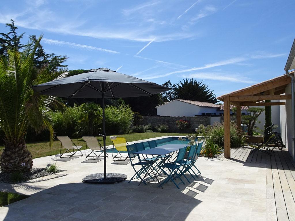 villa moderne à louer à l'ile de Ré